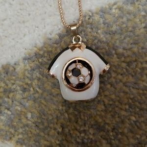 Jewelry - Soccer Pendant Necklace - NWOT